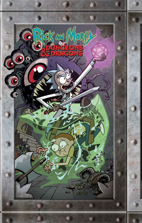 Comic Book Preview – Rick and Morty vs