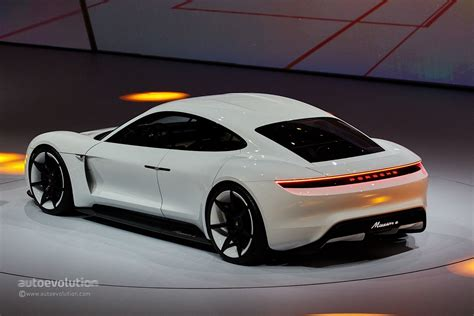 Porsche Mission E Gets Production Green Light, Coming by