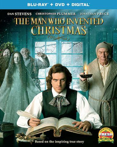 The Man Who Invented Christmas DVD, The Man Who Invented
