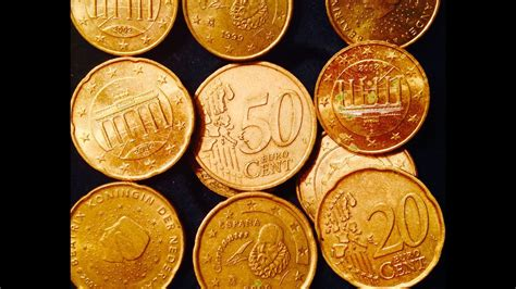 Nordic Gold Euro Cent Coins (10, 20, 50 Cent Coins) - YouTube