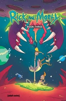 Rick and Morty Book Three   Book by Kyle Starks, Sarah