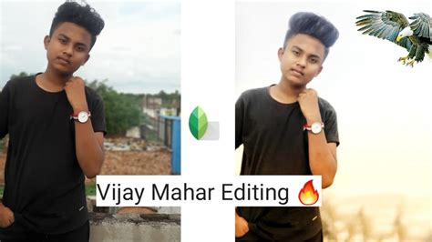 snapseed photo Editing 2020   photo background change in