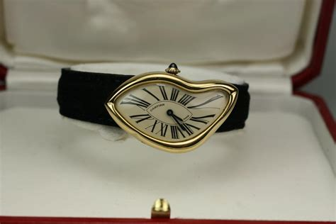 """1991 Cartier """"Crash"""" Watch For Sale - Unisex Vintage Time only"""
