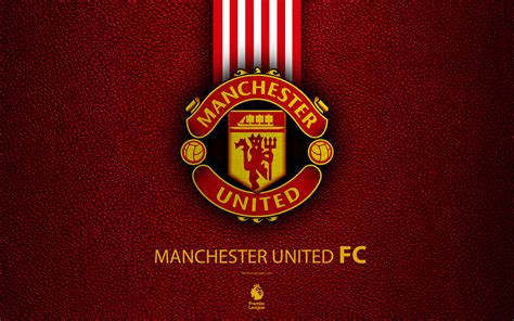 Download wallpapers Manchester United FC, 4K, English